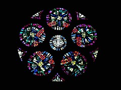 Stained Glass Window (donsutherland1) Tags: ny newyork color colour art history church window 19thcentury stainedglass 1001nights soe tarrytown 1875 firstbaptistchurch otw nationalregisterofhistoricplaces thegalaxy flickraward 1001nightsmagiccity myg
