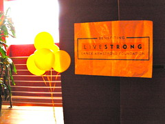Livestrong party at Lucky Strike