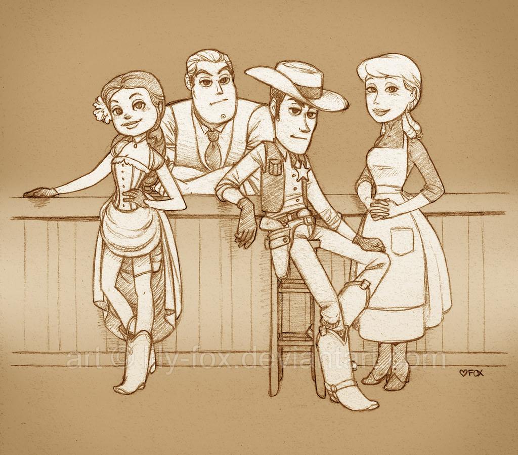 Toy story fanfic fanart (as you do): ontd_pixar