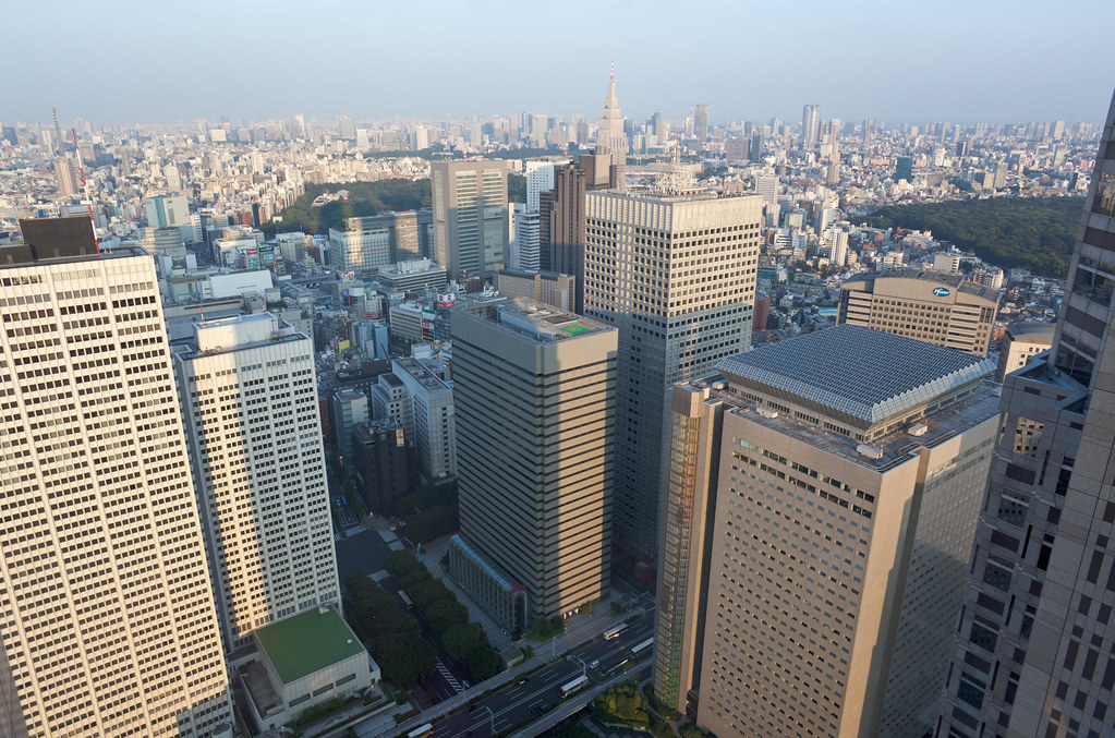 Tokyo from the City Hall