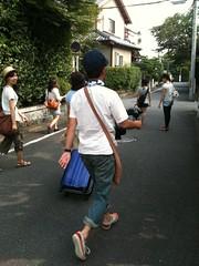 京都のまちをさまようWEST娘と猪瀬先生