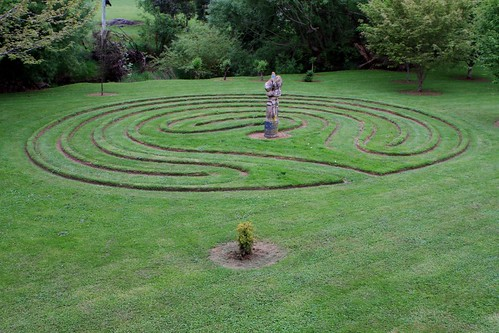 Labyrinth at Wychwood