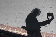 ombraself cavandolesca (g_u) Tags: shadow people self florence gente ombra persone firenze autoritratto gu ugo cavandoli
