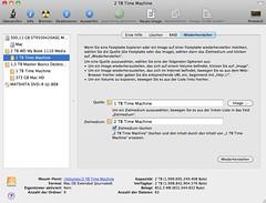 Apple Time Machine: Wiederherstellen