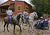 meanwhile back in Mexico..... (uteart) Tags: horses mexico village dancing jalisco horsemen cobblestones ajijic charros galope dancinghorses mywinners utehagen uteart