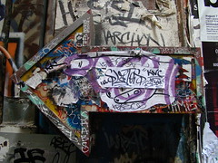 Left Turn (Brian Giesen) Tags: center lane graffitti centreplace briangiesen placemelbourneflinders