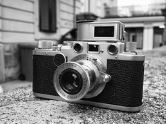 leica IIf 1951 (sdzn) Tags: leica vintage lausanne vintagecamera elmar leitz summitar 5cm sdzn