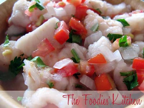 Ceviche de Pescado : Two Ways