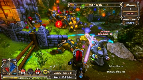 Dungeon Defenders: Coming to PSN with Move & 3D Support