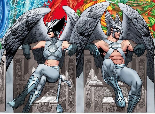 DC Comics White Lantern Hawkwoman Hawkman