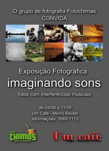 Exposição Fotografica Imaginando Sons