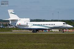 HB-JSN - 76 - Dasnair - Dassault Falcon 7X - 100616 - Luton - Steven Gray - IMG_3816