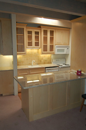 Maple kitchen remodel