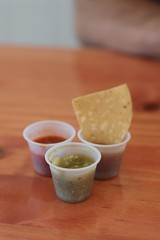 El Bajio - chips and salsa