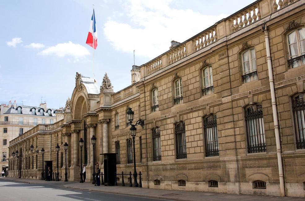 Palais de l'Élysée (Élysée Palace), Paris, France