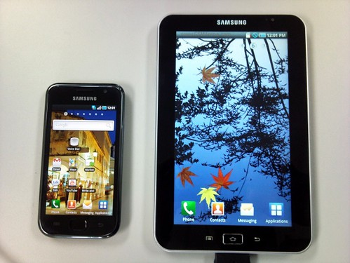 Samsung Galaxy Tab teaser video