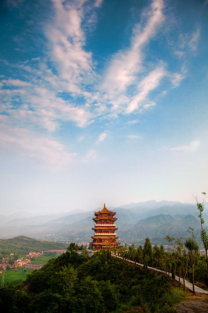 Hanyin Pagoda 汉阴