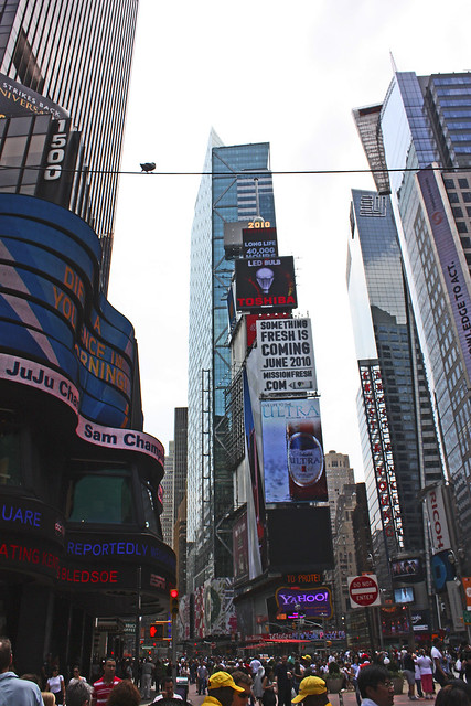 Times Square #2, by MacDara on Flickr.