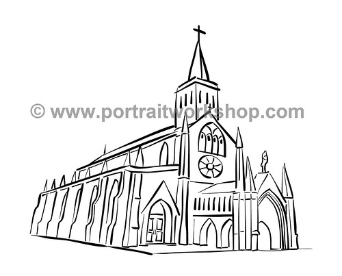 Church linework amended