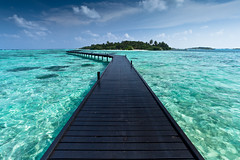 the island (flamed) Tags: ocean vacation holiday water island amazing marine perfect asia heaven paradise infinity country indianocean platform walkway tropical reef maldives eternity jealous hudhuranfushi adaaranprestige