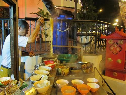 Wan Tan Mee hawker stall