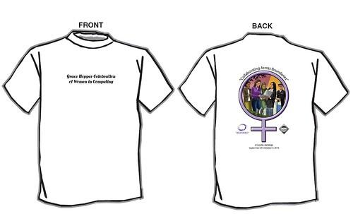 Grace Hopper Conference 2010 T-shirt