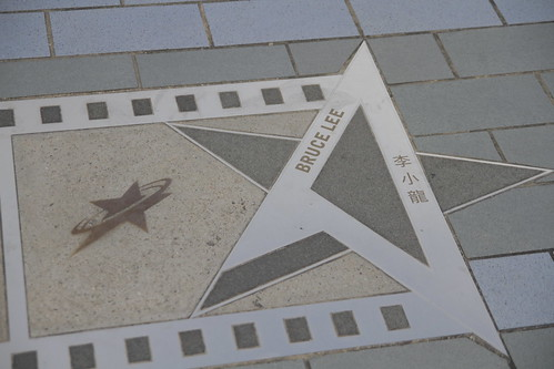 Bruce Lee's star at the Avenue of Stars