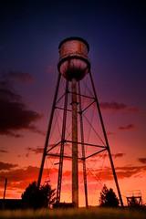081610 Oregon 215 HDR (Kyle Bailey - Da Big Cheeze) Tags: sunset abandoned oregon watertower hdr highdynamicrange kylebailey rookiephoto dabigcheeze wwwrookiephotocom
