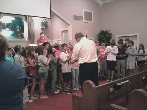 Pine Grove Baptist Revival 2010