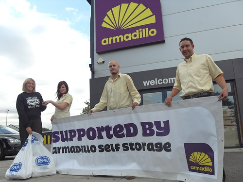 Armadillo Self Storage Finds The Perfect Storage Solution For RSPCA Peterborough