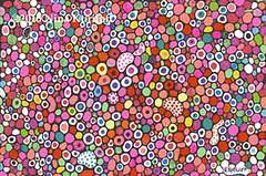 Joy (ninakuriloff) Tags: abstract paper colorful circles pens dots multicolored