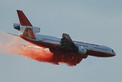 CAL FIRE MODIFIED DC-10 AIRTANKER (Navymailman) Tags: california fire post forestry cal protection department cdf