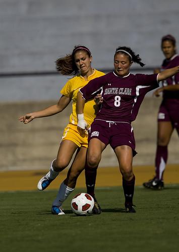 10-08-27 Women's Soccer vs Santa Clara 3
