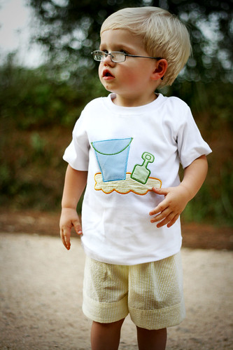 Beach Toys Tee & Short Set