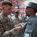 LTG Caldwell recognizes Afghan Logistics personnel (28 Aug 2010)