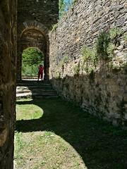 Entrada al claustre i esglsia. (Daguerrotipo2009) Tags: montaa pirineo valldecards