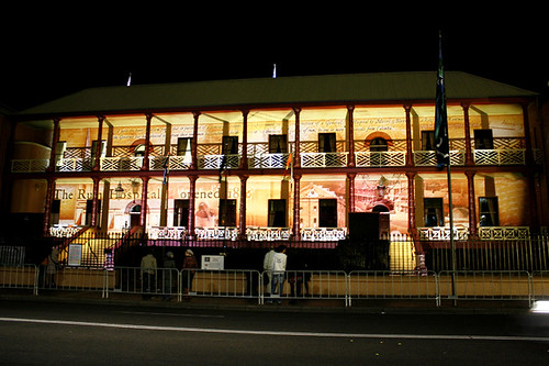 Vivid Sydney 2010 - Macquarie Visions