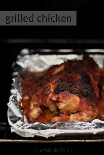 Ayam Panggang ala mamin (Grilled Chicken)