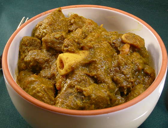 Iyinola Jamaican Curried Lamb With Rice Amp Peas