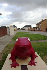 Newington Toad (domfell) Tags: art yorkshire toads toad hull larkin larkin25