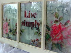 Live Simply (melissa_dawn) Tags: pink sign rose stencil kentucky ky sony pointshoot hazard sonycybershot melissamiller whitepicnik melissadawn