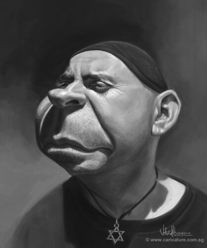 Schoolism Assignment 3 - value painting of Gary