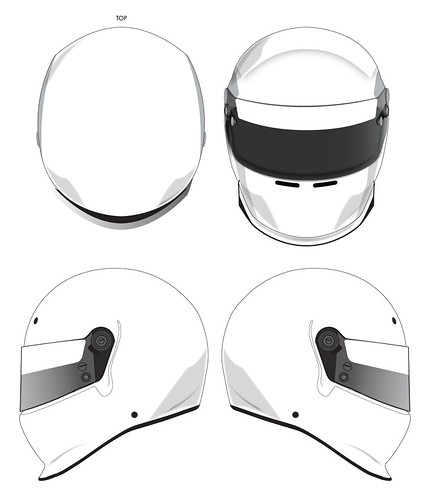 Blank Helmet Design