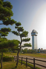 Oarai Marine Tower () (aeschylus18917) Tags: japan architecture landscape nikon scenery district  20mm nikkor f28d 20mmf28d ibarakiken  nikkor20mmf28d d700   nikond700  danielruyle aeschylus18917 danruyle druyle   arai araimachi ibarakiprefecture higashiibaraki  higashiibarakigun oaraicity oaraicoastline  oaraibeach oaraimarinetower