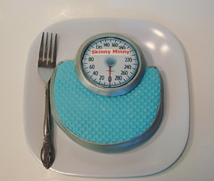 Bathroom Scale Cakelet by cupcakeenvy