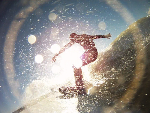 [Free Image] Exercise/Sport, Water Sports, Surfing/Surfer, Silhouette, 201009030100