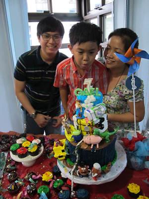 cake blowing