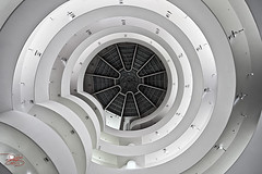Guggenheim Museum - New York (DiGitALGoLD) Tags: new york nyc museum nikon manhattan stairway staircase r guggenheim nikkor f28 solomon d3 revolving 1424 1424mm