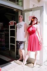 Mannequins South Beach Style (Phillip Pessar) Tags: film 35mm freedom minolta florida kodak 200 dual gold200