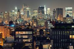 Urban Density, Lower Manhattan from NoHo at Night, New York City (andrew c mace) Tags: above city nyc newyorkcity longexposure roof newyork rooftop skyline night cityscape noho manhattan soho lowermanhattan woolworthbuilding newyorkatnight 7worldtradecenter photomatix nikkor50mm urbandensity beekmantower nikoncapturenx nikond90 financialdisrict exposurefusion